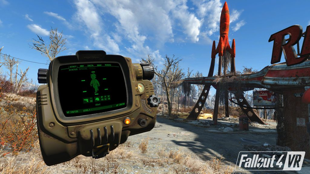 Fallout 4 VR is now available for HTC Vive