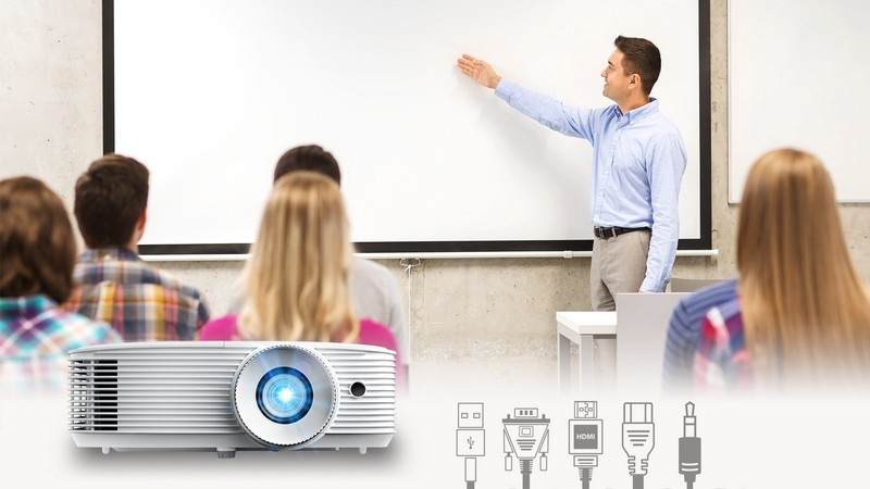 Optoma Creates Bright, Crystal Clear Presentations  for Business and Education Environments