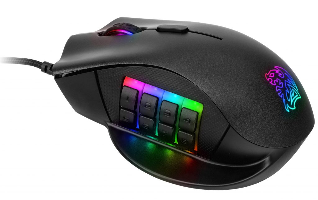 Tt eSports Announces Availability of Nemesis Switch Optical RGB Gaming Mouse