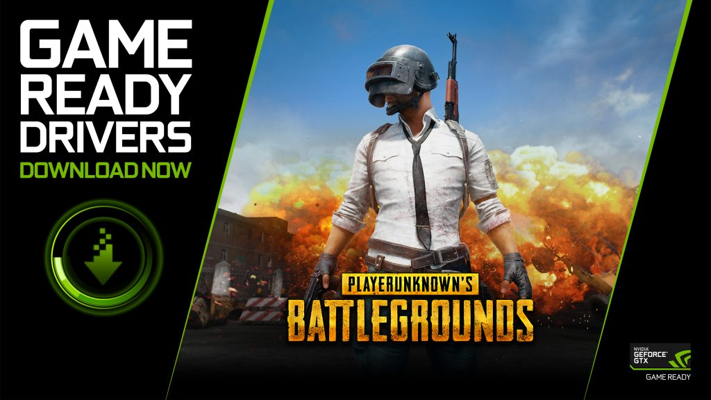 GeForce Gamers are Game Ready for PLAYERUNKNOWN'S BATTLEGROUNDS