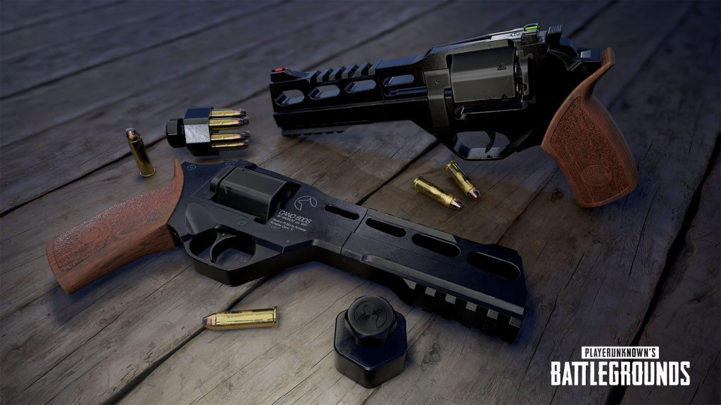 NVIDIA Exclusive: PUBG Desert Map gets a New Weapon, the R45 .357 Magnum Revolver