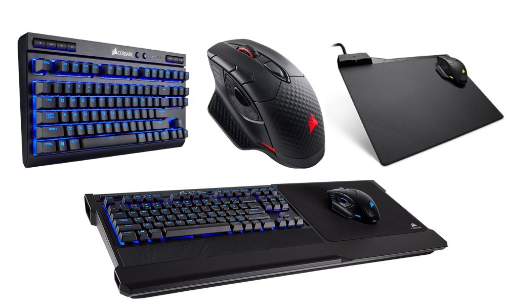 It's Time to UNPLUG and PLAY CORSAIR Launches Full Range of Wireless Gaming Peripherals at CES 2018