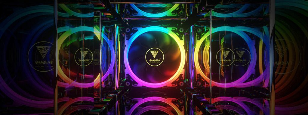 Gamdias Showcased Their Latest Liquid Cooler, Fans and Power Supply at CES 2018