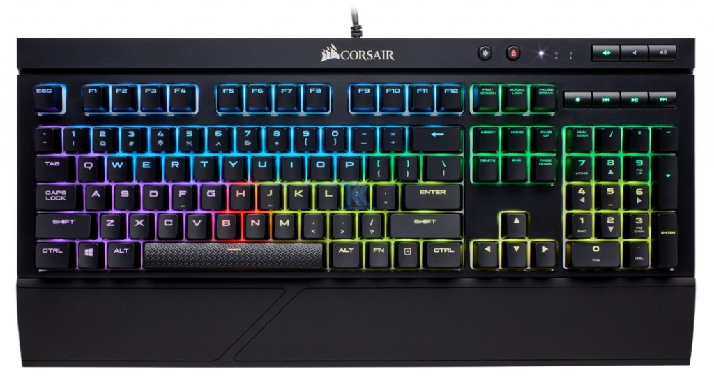 RGB and Ready For Anything Introducing the Water-Resistant CORSAIR K68 RGB Mechanical Gaming Keyboard