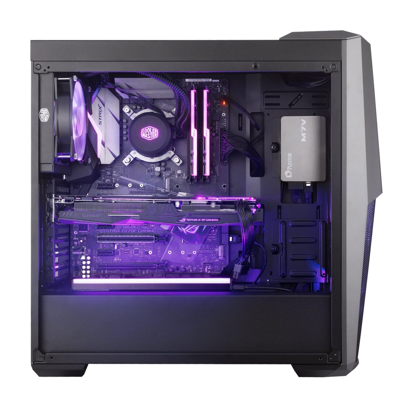 Top Pc Case Fans Zalman Z5 Atx Mid Tower Pc Cases