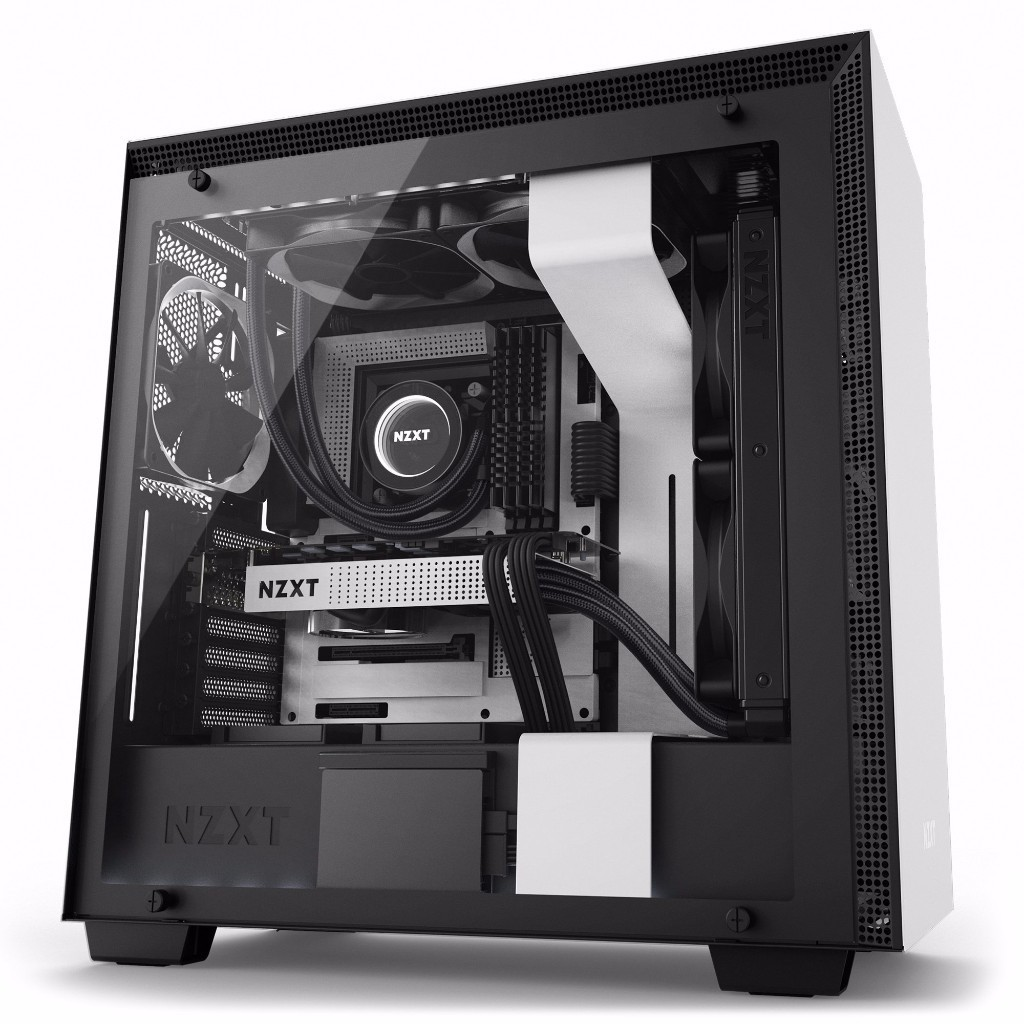 Easily Build a Quiet and Gorgeous System with NZXT N7 Z370 Motherboard