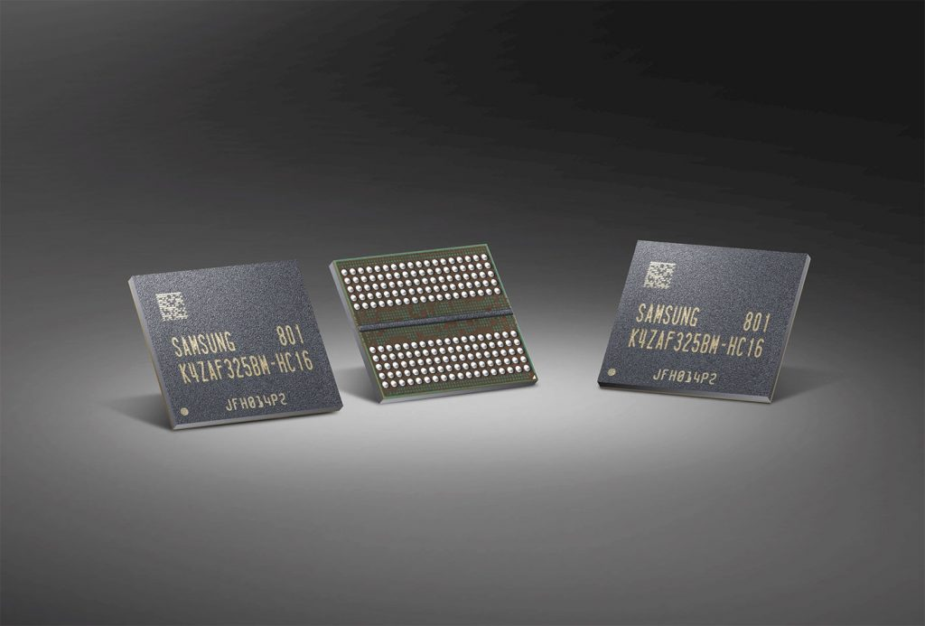 Samsung Starts Producing Industry's First 16-Gigabit GDDR6 Memory