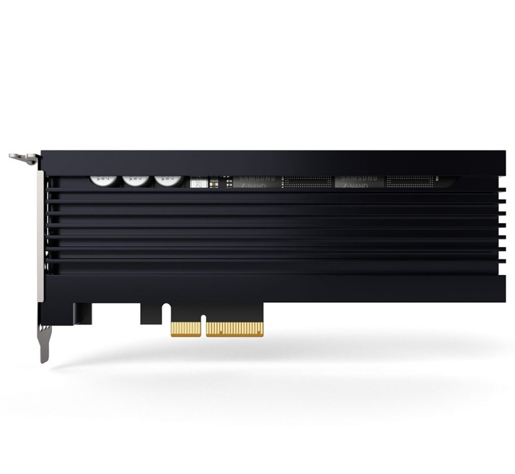 Samsung Launches 800GB Z-SSD for HPC and AI Systems