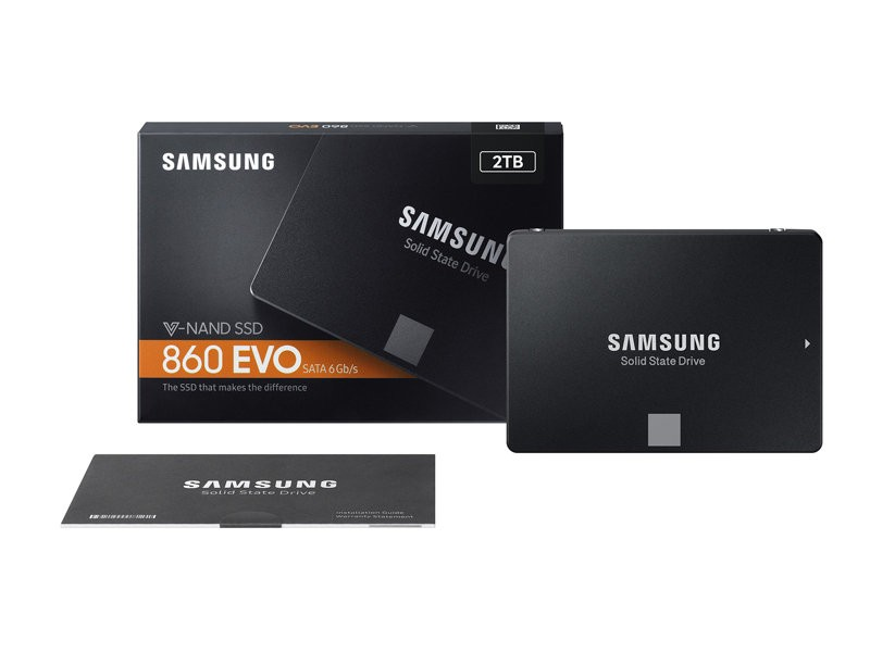 Samsung Launches 860 PRO and 860 EVO Series SSDs