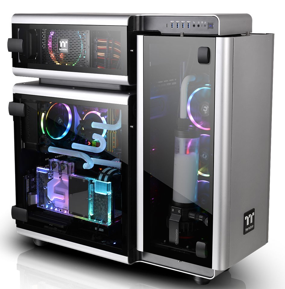 Thermaltake New Level 20 Full-Tower Chassis Astounds at CES 2018