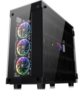 Thermaltake Unveils the New View 91 Tempered Glass RGB Edition at CES 2018