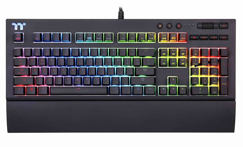 Thermaltake Announces X1 RGB Cherry MX Mechanical Gaming Keyboard