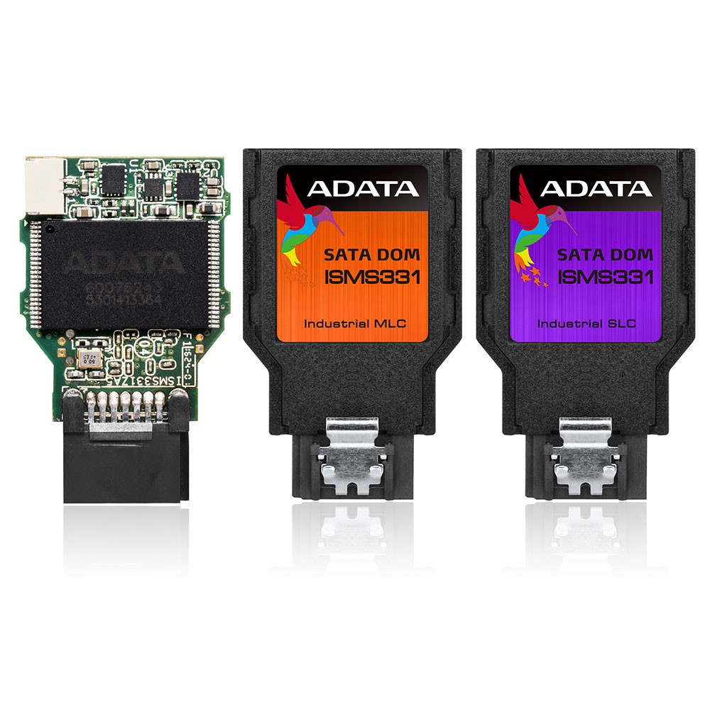 ADATA Launches the ISMS331 Industrial-Grade 7 Pin SATA DOM
