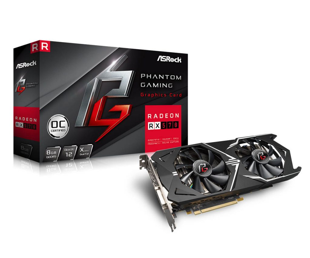 ASRock Entered Graphics Card Market with Phantom Gaming Series Cards