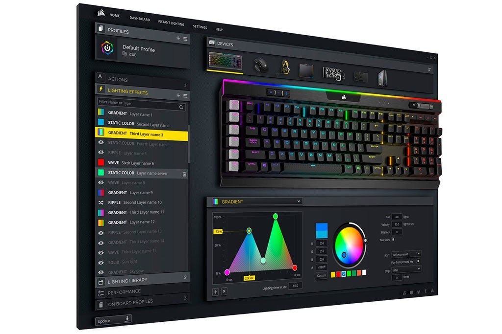 CORSAIR Introduces Their iCUE Unified Software to Control