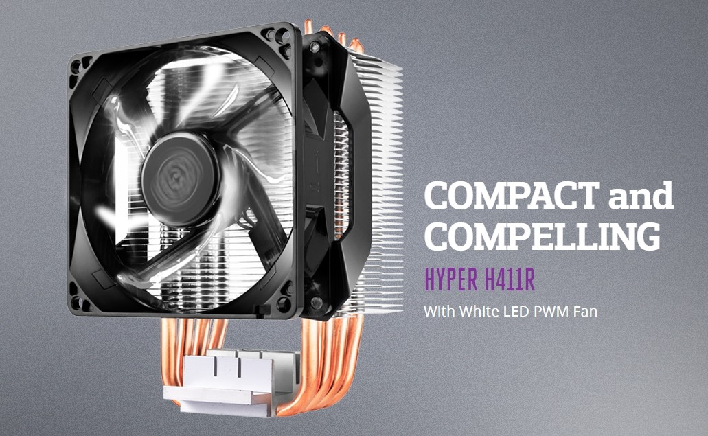 Cooler Master Hyper H410R Cooler Review