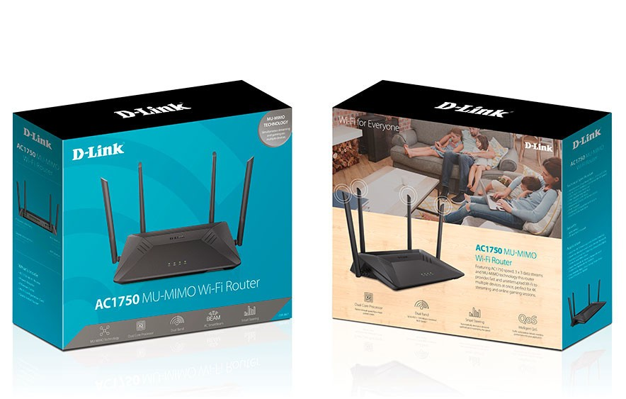 D-Link Announces Their AC1750 MU-MIMO Wi-Fi Router