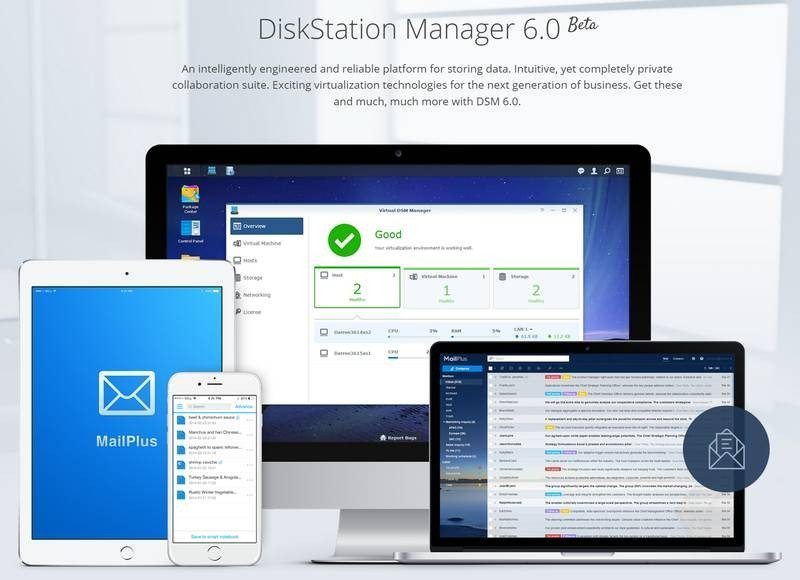 Synology Announces Out DiskStation Manager 6.2 Beta