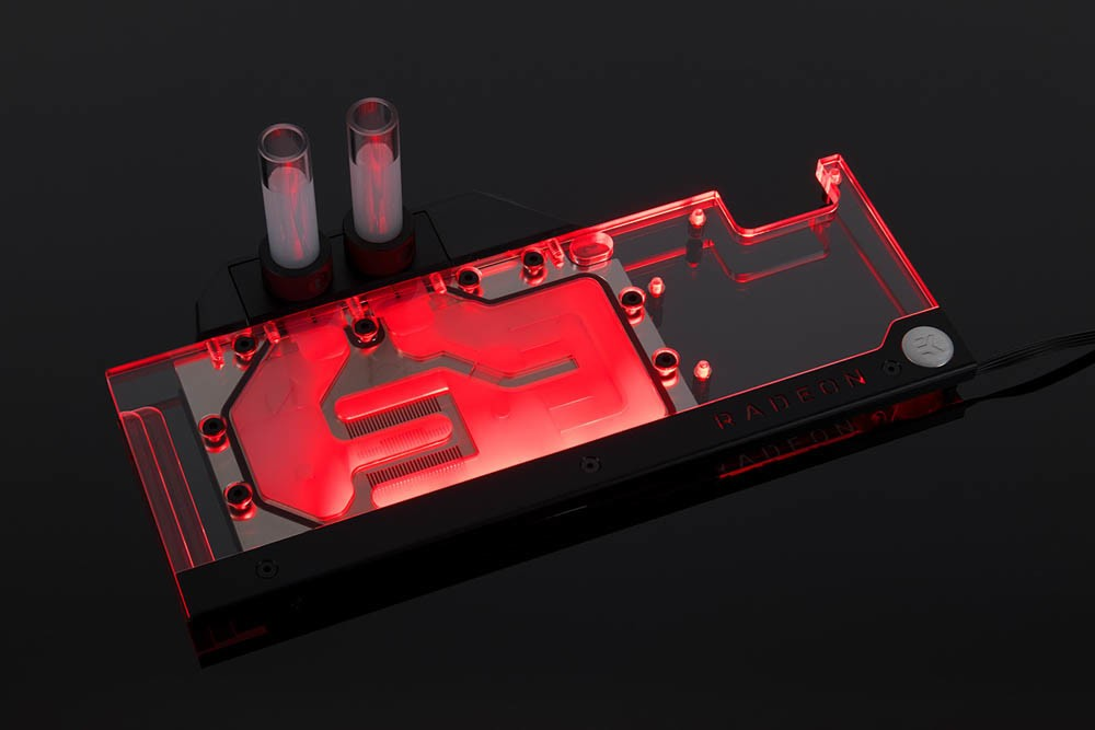 EK Announces Full CoverRGB Water Block for AMD Radeon RX Vega Based Graphics Cards