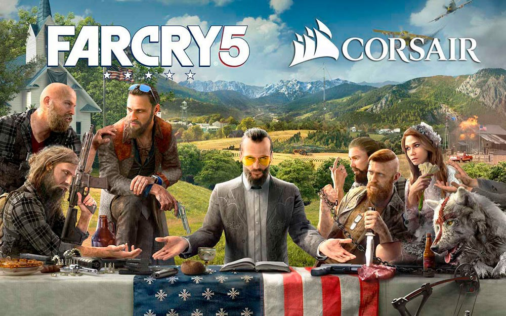 CORSAIR and Ubisoft Partner to Bring PC Lighting Integration to Far Cry 5