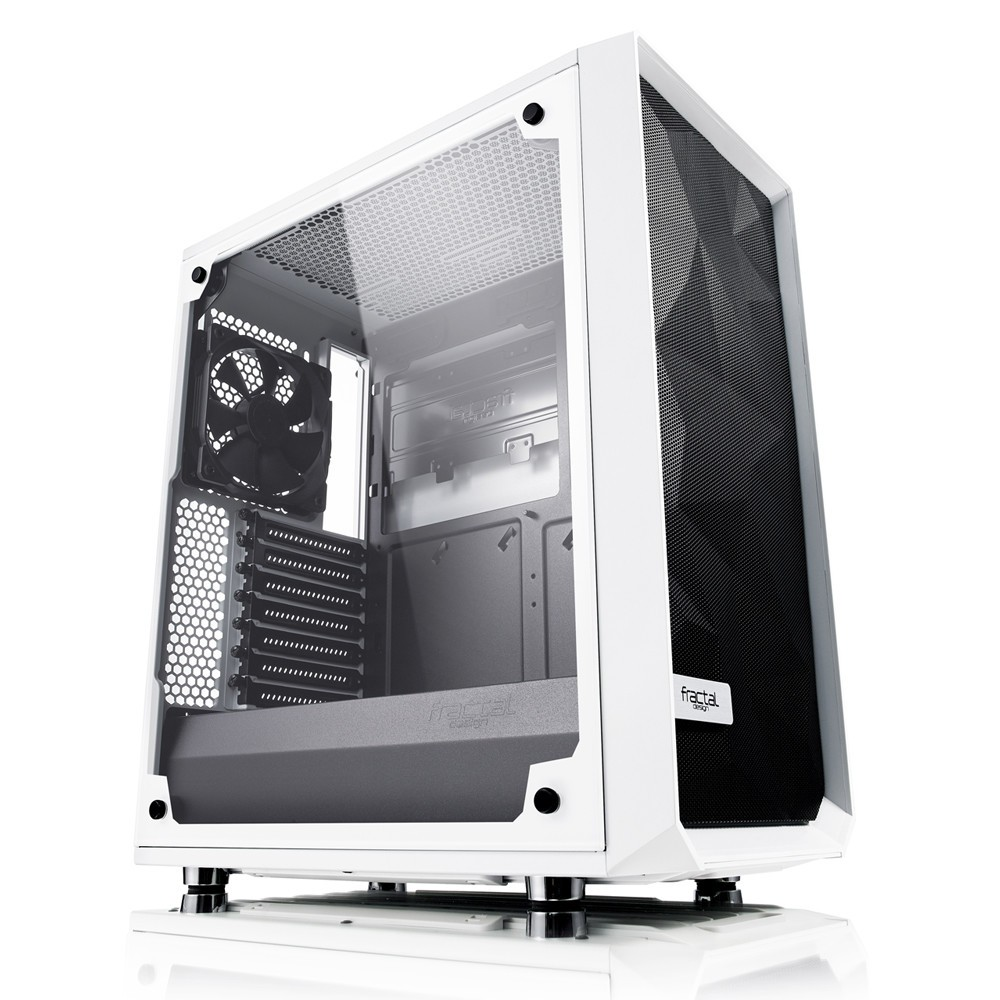 Fractal Design Expands Meshify C Line Up with New White Variant