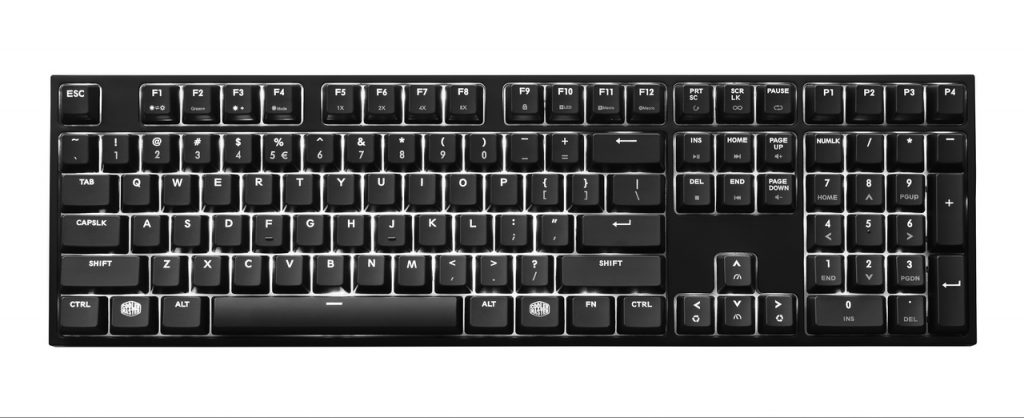 Cooler Master RE-launches MasterKeys Pro L with White LED sat an attractive price!