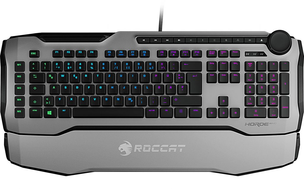 Roccat Announces Availability of the Horde AIMO Membranical Gaming Keyboard