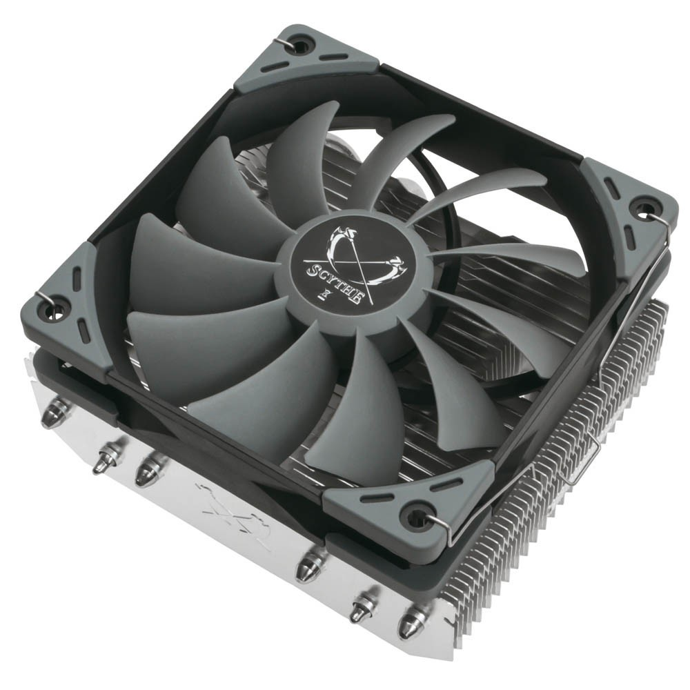 Scythe Presents the Choten Top-Flow CPU Cooler with 120 mm in Height