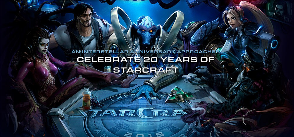Blizzard Celebrates StarCraft's 20th Anniversary with Many In-game Freebies