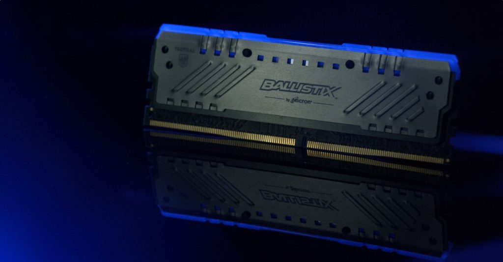 Ballistix Announced the Availability of Tactical Tracer RGB DDR4 Gaming Memory