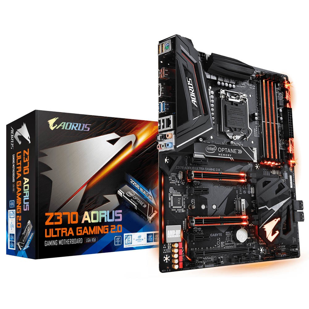 Aorus Unveils Z370 Motherboards with Exclusive Built-In 32GB Intel Optane Memory