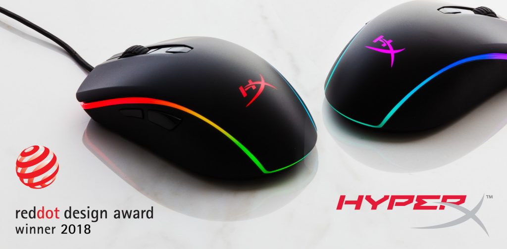 HyperX Announces New Pulsefire Surge Gaming Mouse with RGB Lighting