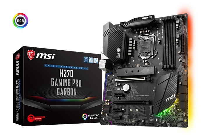 MSI Announces their H370, B360, and H310 Motherboards