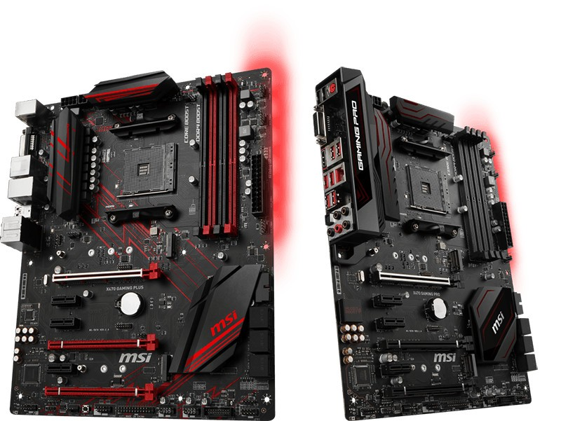 MSI Announces its AMD X470 Motherboard Lineup