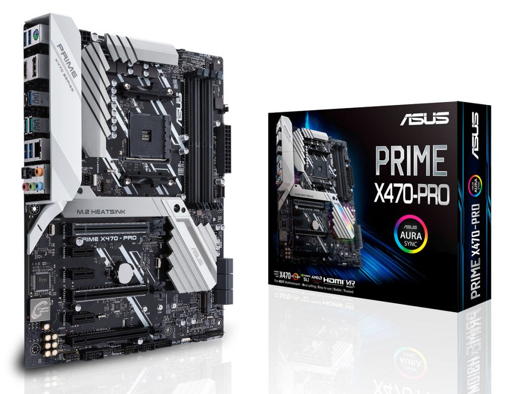 ASUS Announces its AMD X470 Motherboard Lineup