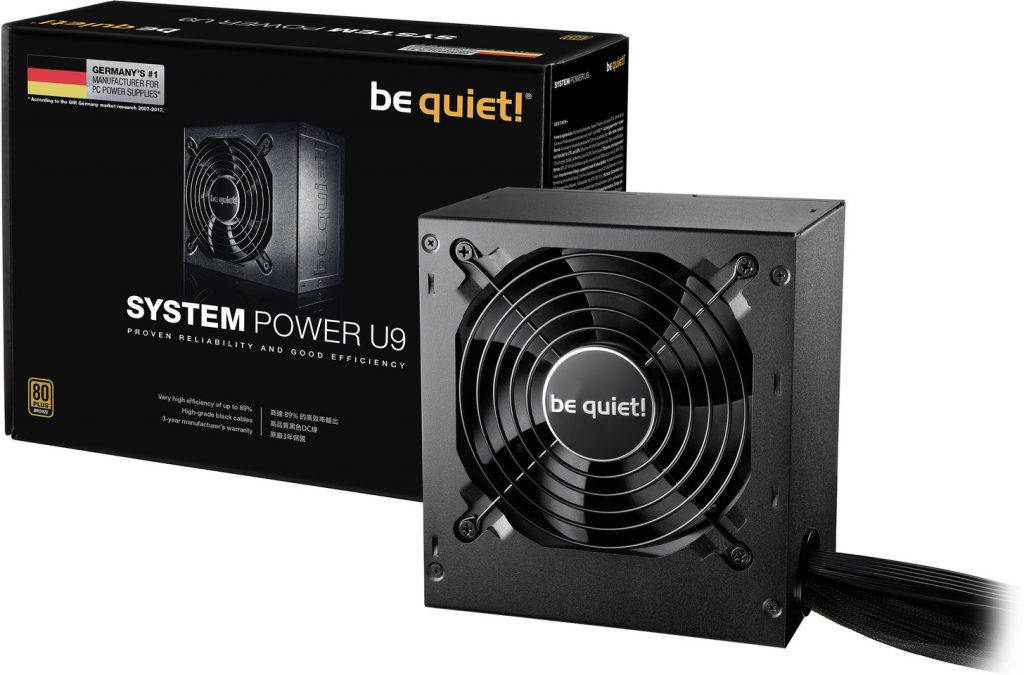 Be Quiet! Anounces System Power U9 PSU Series