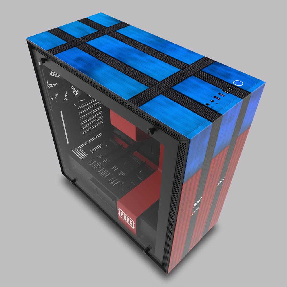 Nzxt Announces Limited Edition H700 Pubg Licensed Case
