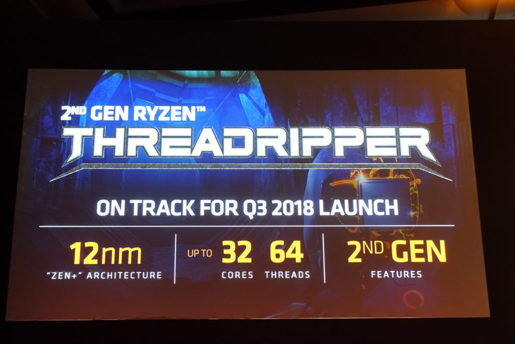 AMD Announces 2nd Generation Ryzen Threadripper with 32 Cores and 64 threads