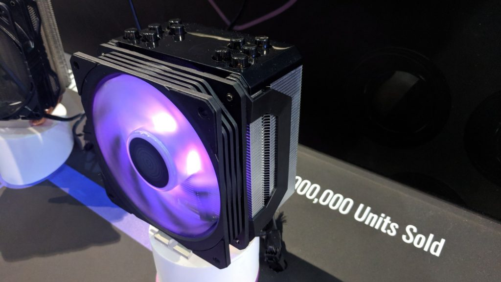 Cooler Master Unveils New All-In-One Liquid Coolers and unveils a concept version of the Hyper 212 at Computex 2018