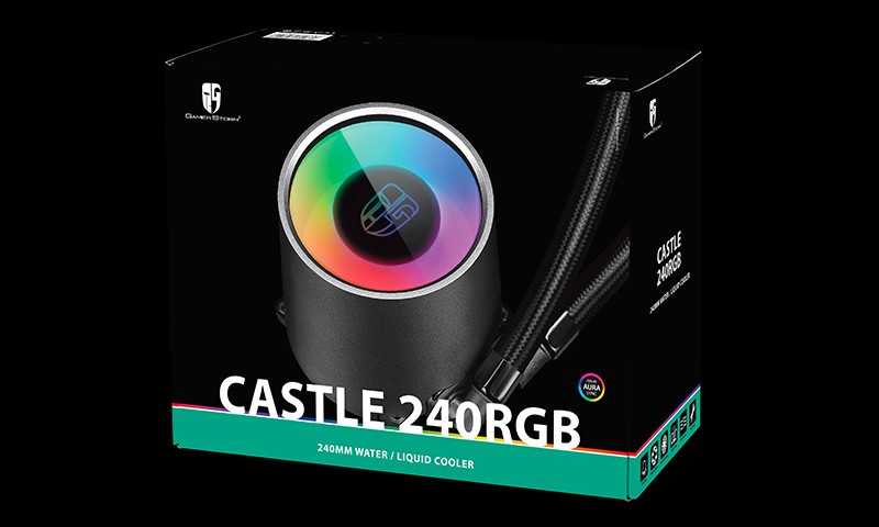 Deepcool Gamerstorm Launches the Castle 240 RGB and 280 RGB Liquid Coolers
