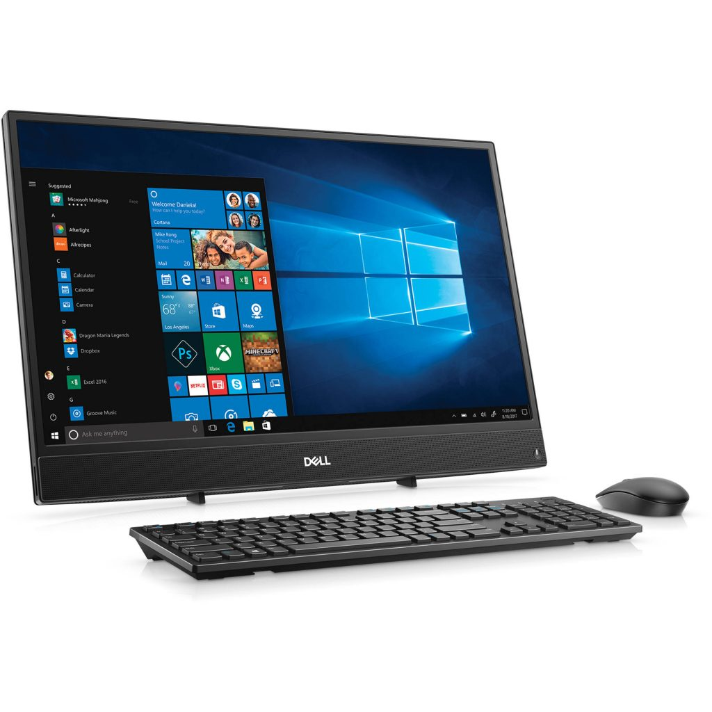 Dell lines up a new portfolio of slimmer, wide screen All-In-One desktops that deliver a superior viewing experience
