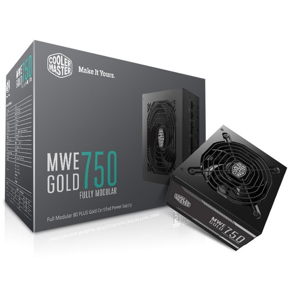 Cooler Master Announces Availability of Its MWE GOLD PSU