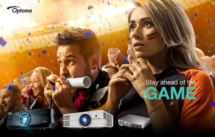 Optoma Brings the FIFA World Cup to You
