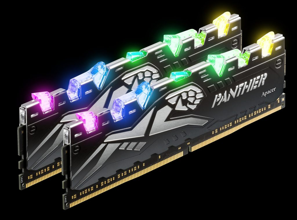 Apacer's PANTHER RAGE DDR4 RGB Will Glow Away the Competition