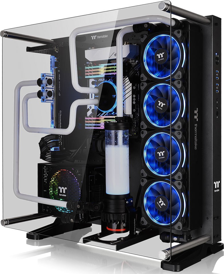 Thermaltake Announces Core P5 Tempered Glass Ti Edition Chassis