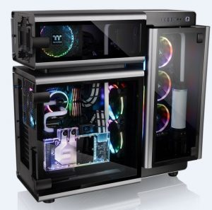 Thermaltake New Level 20 and Level 20 GT Full-Tower Chassis Astounds at COMPUTEX 2018
