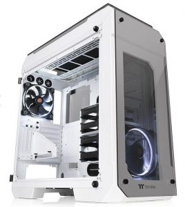 Thermaltake Released the New View 71 Tempered Glass Snow Edition Full-Tower Chassis