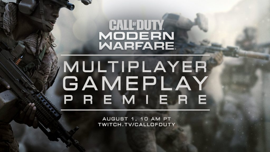 Call of Duty: Modern Warfare Multiplayer Universe to Be Revealed August 1