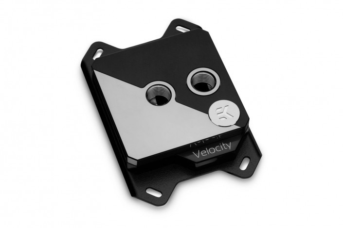 EK-Velocity Strike CPU Block for Intel and AMD CPUs - The Right Angle of Aesthetics