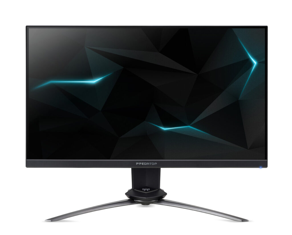 Acer announces Predator XN253Q X with 0.4 ms response time and 240Hz refresh rate